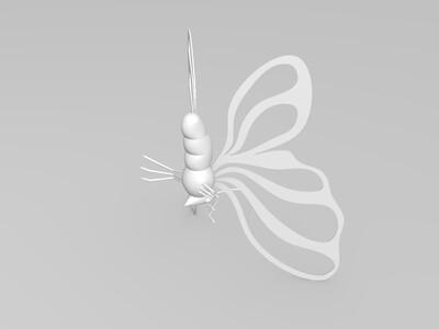 漂亮的打印蝴蝶-3d打印模型
