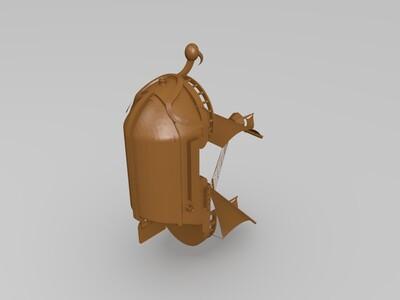 黄金梅利号-3d打印模型