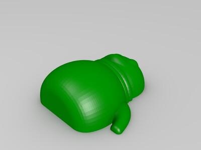 储钱罐-3d打印模型