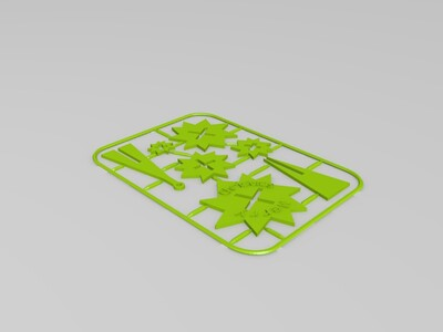 手风琴配件-3d打印模型