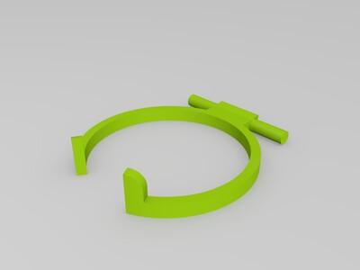 可折叠 啤酒/汽水罐支架 by Ekdahl-3d打印模型
