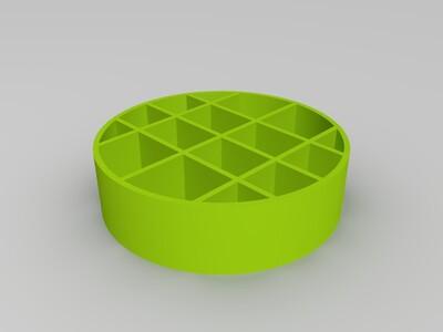 圓形盒子-3d打印模型