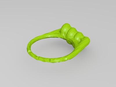 复刻创意戒指-3d打印模型