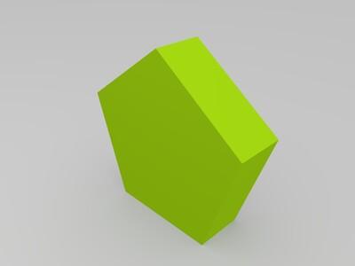植物细胞模型-3d打印模型