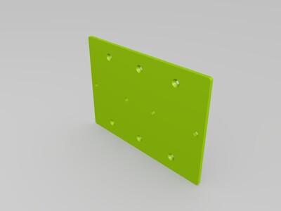 开关转接板-3d打印模型
