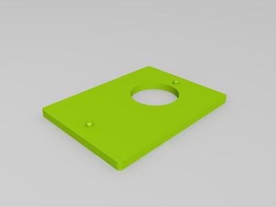 墙壁盒子-3d打印模型