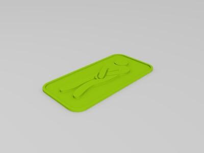 厕所标识男女-3d打印模型