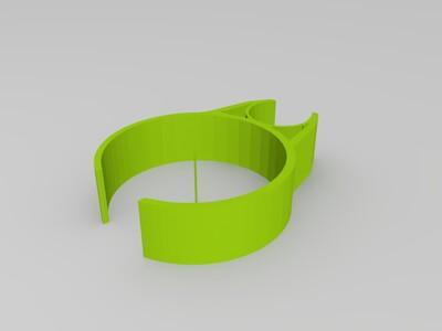 手捏夹子-3d打印模型