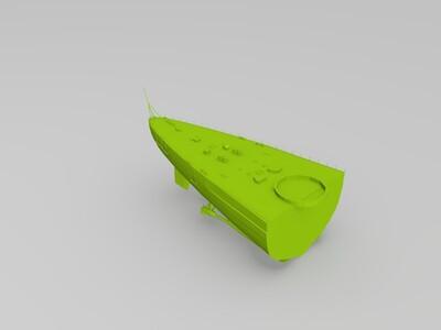 脾斯麦-3d打印模型