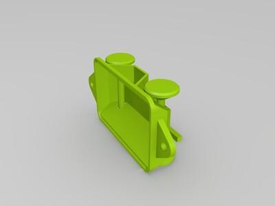 小货车厢-3d打印模型
