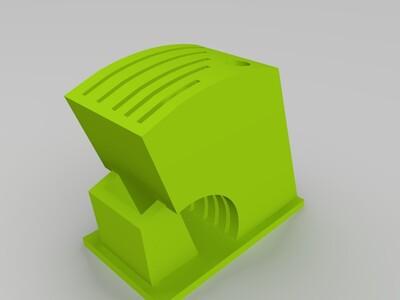 厨房刀具架-3d打印模型