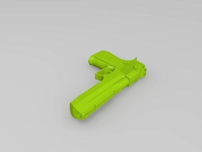 持枪男人Snake-3d打印模型