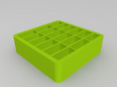 正方形盒子-3d打印模型