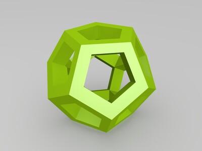 12面体-3d打印模型