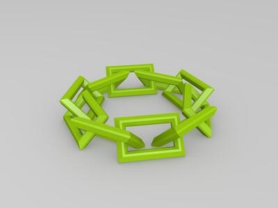 手链-3d打印模型