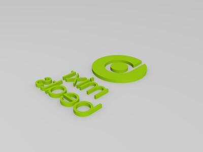 beats mixr耳机LOGO-3d打印模型