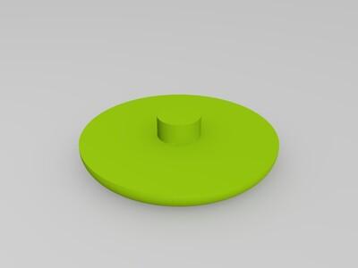 指尖陀螺(中轴拼插粘合,可用502)-3d打印模型