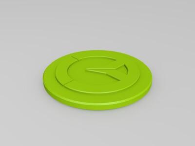 守望先锋标志-3d打印模型