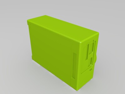 相机-3d打印模型