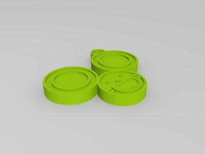 小老鼠挂件-3d打印模型