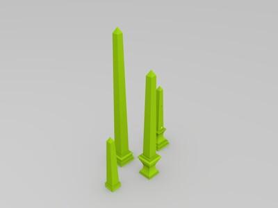 方尖碑-3d打印模型