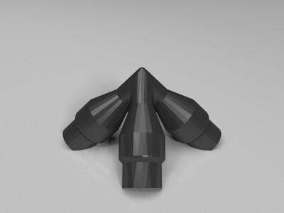 齿轮组(可拼接)-3d打印模型