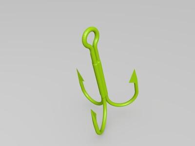 精品路亚假饵-3d打印模型