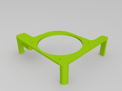 珍妮2 散热架-3d打印模型