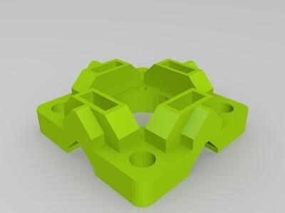型材垫脚-3d打印模型