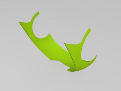 新版钢铁侠头盔打印拼接版-3d打印模型