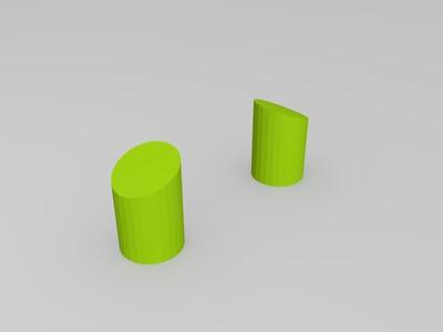 可爱的小鸡-3d打印模型