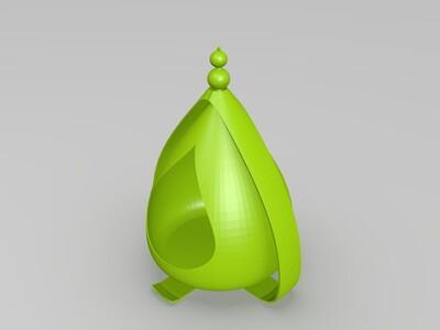 吊椅花盆-3d打印模型