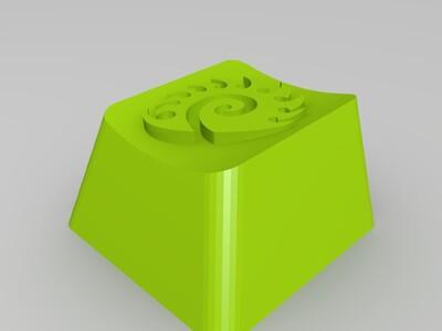 机械键帽-3d打印模型