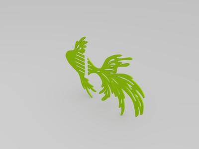 拼装金鱼-3d打印模型