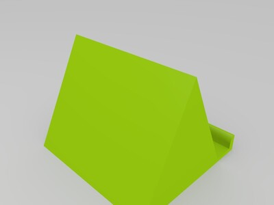 三角形支架-3d打印模型