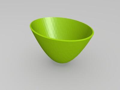 椭圆抛物面 - 等式-3d打印模型