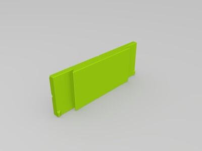 全打印 方便台钳-3d打印模型