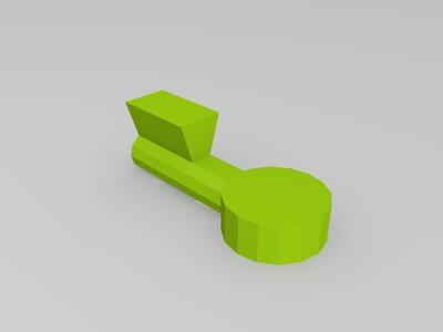 藏宝箱-3d打印模型