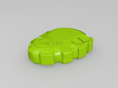 数码宝贝 d3暴龙机-3d打印模型