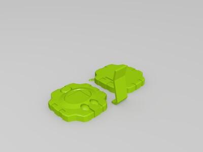 数码宝贝 暴龙机 初代 电波暴龙机 神圣计划-3d打印模型