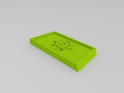数码宝贝 进化钥匙徽章 -3d打印模型