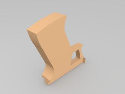 激光枪-3d打印模型