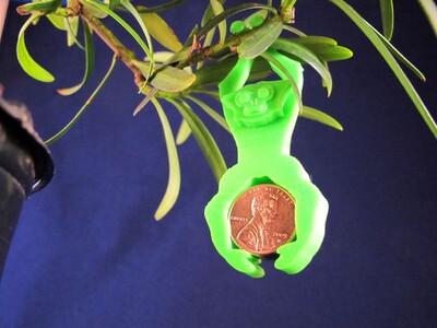 长臂猿盆景-3d打印模型