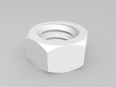 螺丝大全-3d打印模型