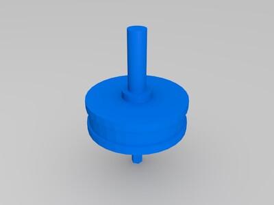 鼠标轮 皮圈-3d打印模型