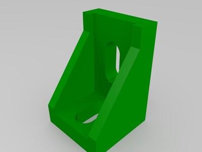 20型材交叉连接件-3d打印模型
