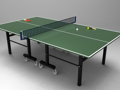 乒乓球台-3d打印模型