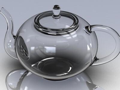 玻璃茶壶-3d打印模型