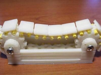 轨道链和齿轮-3d打印模型