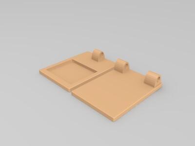 台灯(已预留孔,可加装电路)-3d打印模型